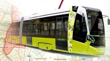Трамваи белорусского производства для Санкт-Петербурга