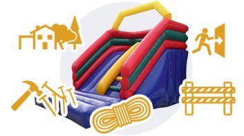 Требования к эксплуатации надувного игрового оборудования
