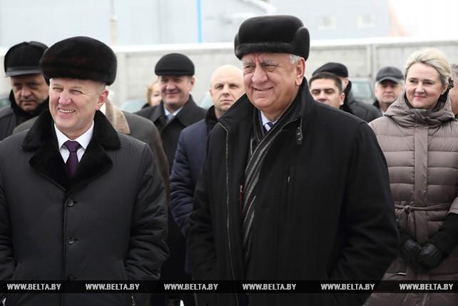 "Мясникович посетил СООО ""Бел-Пласт-Интернэшнл"" в Лиде"