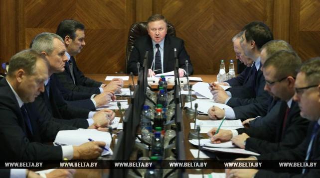 Кобяков провел первое заседание республиканского оргкомитета по подготовке и проведению Европейских игр 2019 года в Беларуси