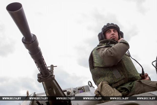 Первый этап совместных учений белорусских и российских десантников проходит в Брестском районе