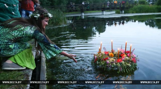 """Фольклорно-обрядовый вечер """"Волшебство купальских трав"""" прошел в Минске"""