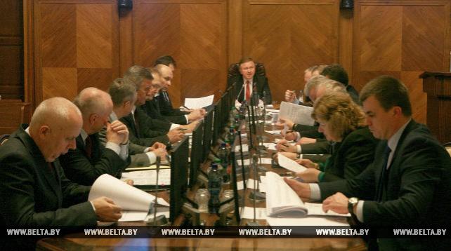 Заседание оргкомитета по подготовке и проведению Европейских игр прошло в Минске