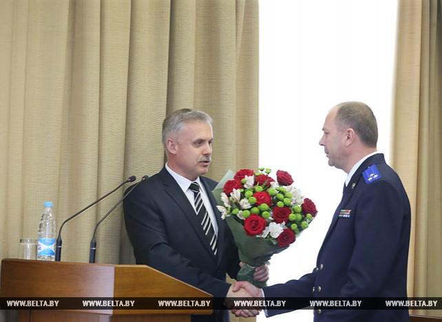 Новый председатель Следственного комитета Иван Носкевич представлен коллективу ведомства