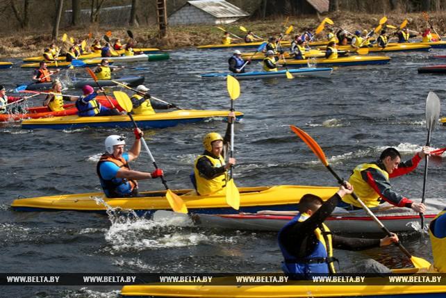На Августовском канале открыли новый туристический сезон