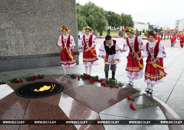 """Акция """"Мы помним и гордимся!"""" прошла в Витебске"""