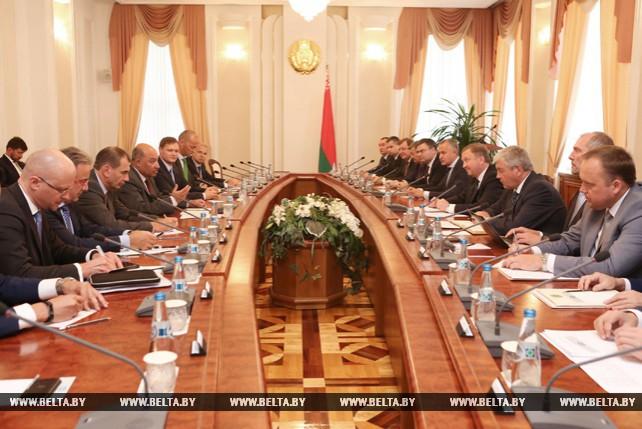 Кобяков встретился с президентом ЕБРР Сумой Чакрабарти