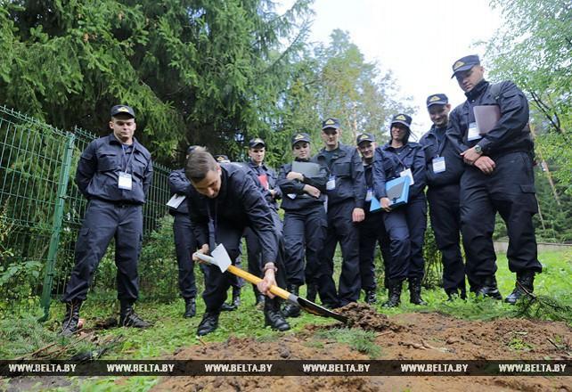 Конкурс профмастерства молодых следователей Минска проходит под Воложином