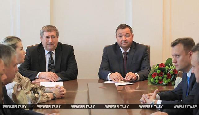 Новый министр природных ресурсов и охраны окружающей среды представлен коллективу министерства