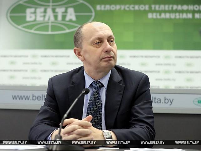 Онлайн-конференция с министром промышленности Виталием Вовком прошла на сайте БЕЛТА