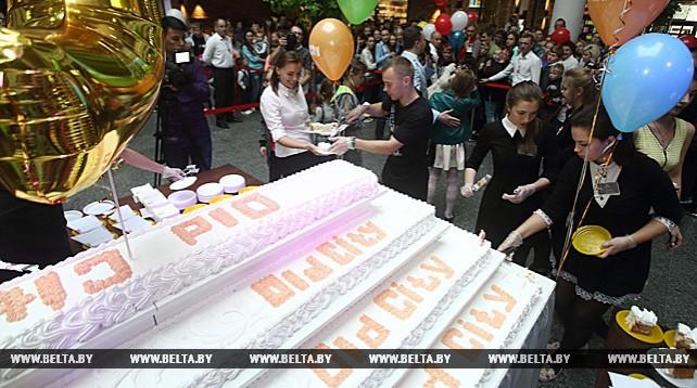 200-килограммовый торт приготовили в Гродно