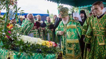 Митрополит Павел возглавил богослужение в день памяти игумена Афанасия Брестского