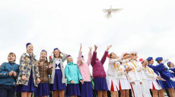 """Митинг """"Вместе на благо мира"""" прошел в Минске"""
