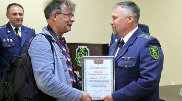 Журналисты БЕЛТА удостоены благодарности Гродненской региональной таможни