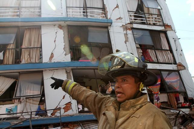 Землетрясение магнитудой 7,1 произошло на юге Мексики