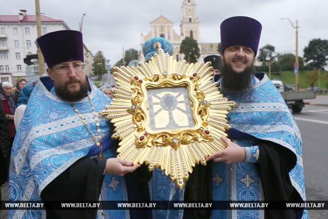 В Гродно прибыла икона Божией Матери из Жировичской обители