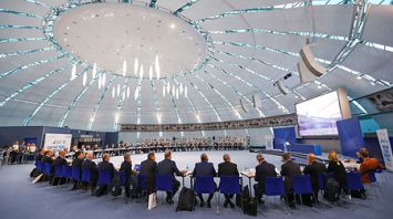 """Совместное заседание Координационной комиссии ЕОК с представителями оргкомитета и фонда """"Дирекция II Европейских игр"""""""