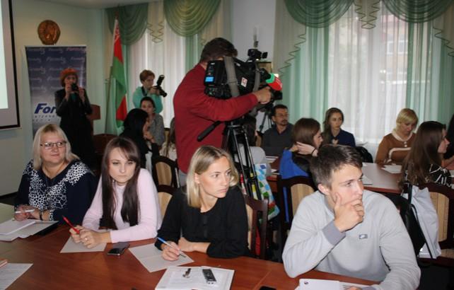 """В Гродно начала работу школа журналистики """"Мастерская BY-RU"""""""