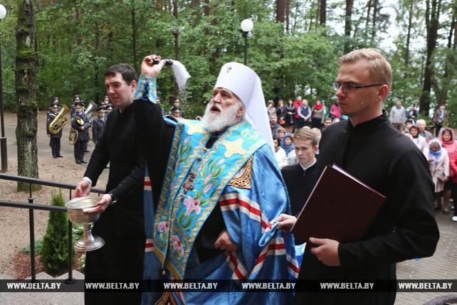 Митрополит Павел освятил часовню в Гродненском районе
