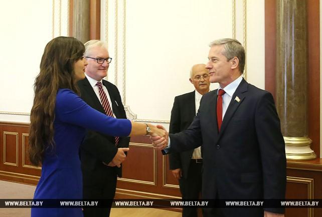 Пирштук встретился с парламентской делегацией Бельгии