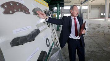 Первое в Беларуси предприятие по производству тормозных колодок открылось в Старых Дорогах