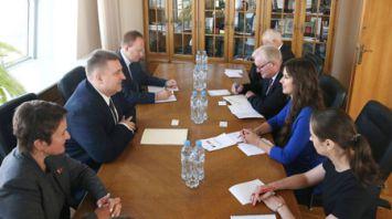 Кравченко встретился с депутатом Палаты представителей Федерального парламента Бельгии