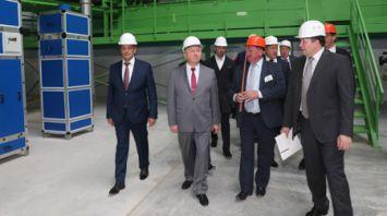 Кобяков ознакомился с развитием системы обращения с твердыми коммунальными отходами в Минске
