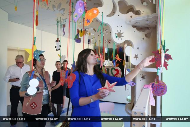 Йолин Ван Камп посетила Белорусский детский хоспис