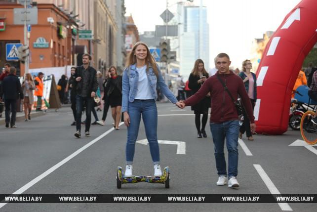 """Акция """"День без автомобиля"""" прошла в Минске"""