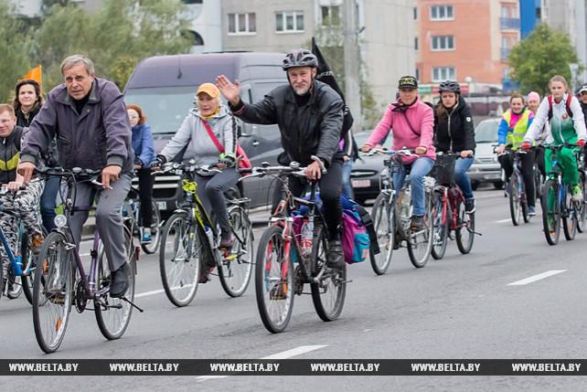 """Велопробег """"Всемирный день без автомобиля"""" прошел в Бресте"""
