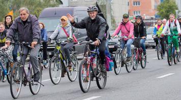 Всемирный день без автомобиля прошел в Бресте