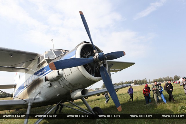 Открытый чемпионат Беларуси по планерному спорту проходит под Рогачевом