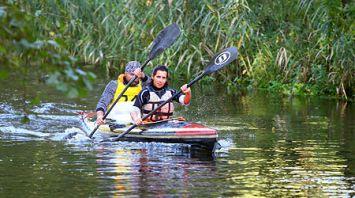 Всемирный день туризма в Гродно отметили международным гребным марафоном