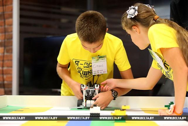 В Минске прошел национальный отбор на Всемирную олимпиаду роботов