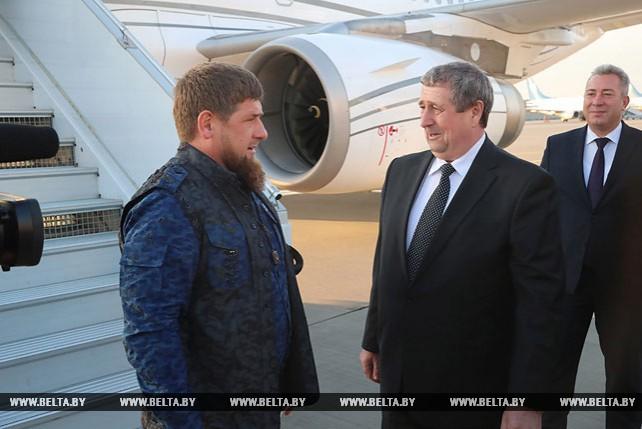 Чеченская делегация во главе с Кадыровым приехала в Минск