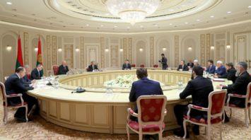 Лукашенко встретился с главой Чеченской Республики Рамзаном Кадыровым