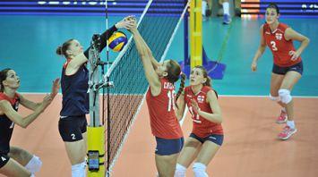 Белорусские волейболистки обыграли команду Грузии на чемпионате Европы