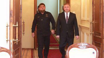 Кобяков встретился с главой Чеченской Республики