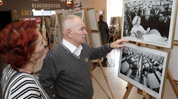Выставка мэтра репортажной фотографии Николая Желудовича открылась в Могилеве