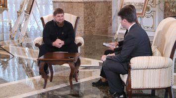 "Рамзан Кадыров дал интервью БЕЛТА и телеканалу ""Беларусь 1"""