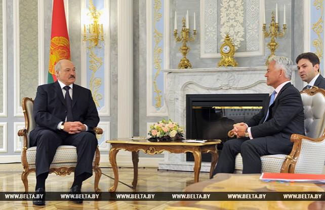 Лукашенко встретился с государственным министром по делам Европы и Америки МИД Великобритании Аланом Дунканом