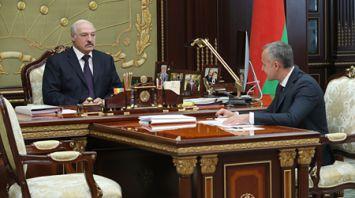 Лукашенко провел рабочую встречу с первым вице-премьером Василием Матюшевским