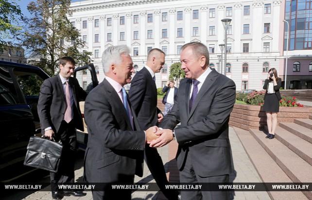 Макей провел переговоры с государственным министром по делам Европы и Америки МИД Великобритании Аланом Дунканом