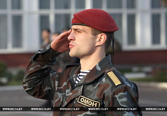 Лучших сотрудников ППС и ОМОН выбирают в Могилеве