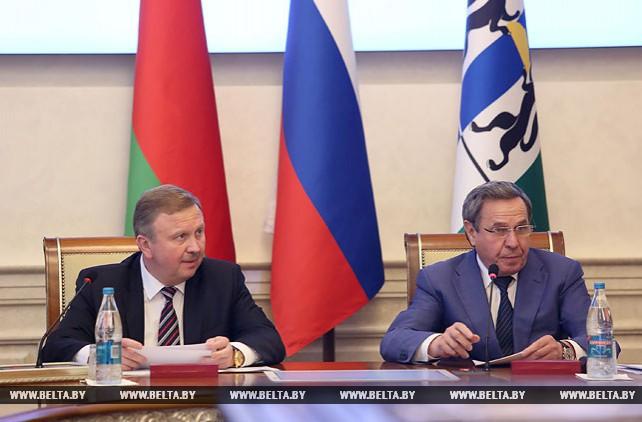 Беларусь намерена в ближайшие годы увеличить товарооборот с Новосибирской областью до $500 млн