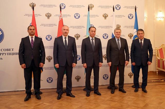 Генпрокурор Беларуси принял участие в заседании Межгоссовета по противодействию коррупции