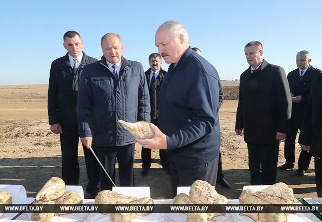 Лукашенко совершает рабочую поездку в Минскую область