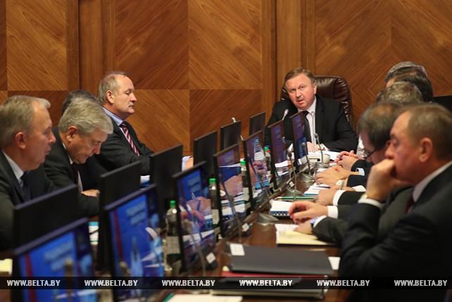 Андрей Кобяков провел заседание Президиума Совета Министров