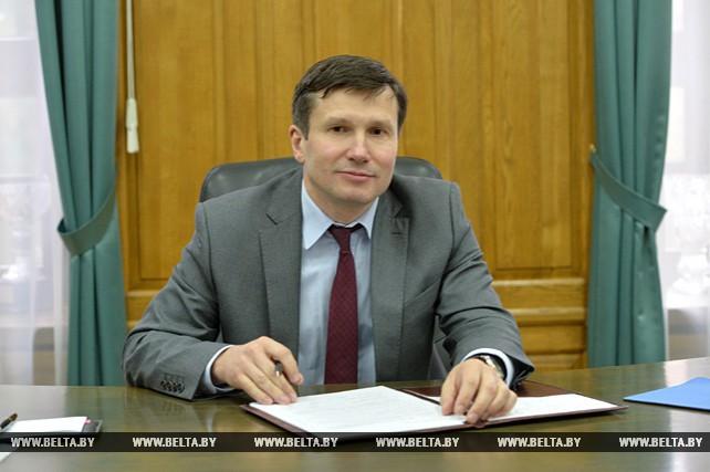 Ректор БГУ Андрей Король