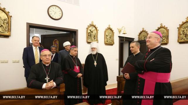 Новое здание Апостольской нунциатуры открылось в Минске